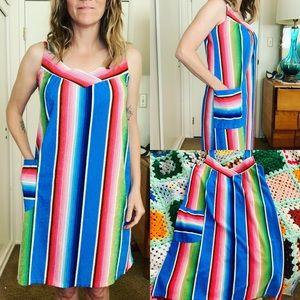 Vintage Terrycloth Dress